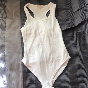 White bodysuit - NWOT